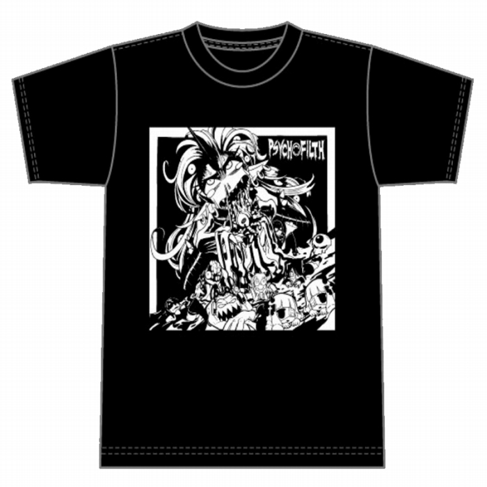 THE BEST OF PSYCHO FILTH Tシャツ (ホワイト)
